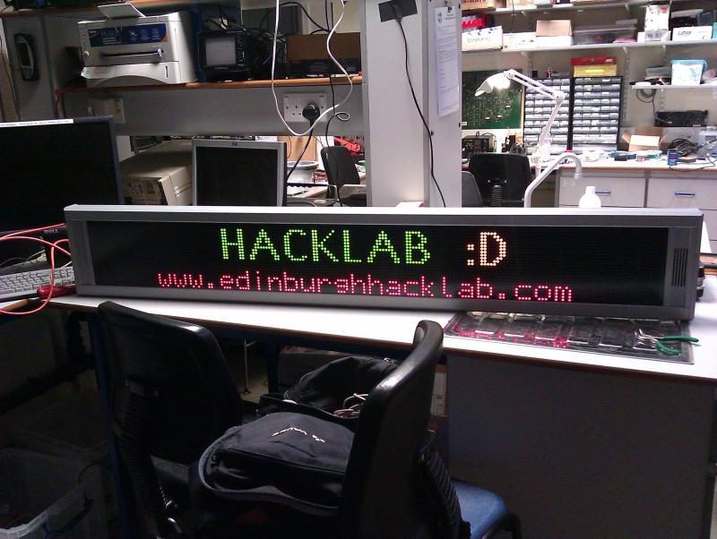 rhapsodydisplay... Hacklab