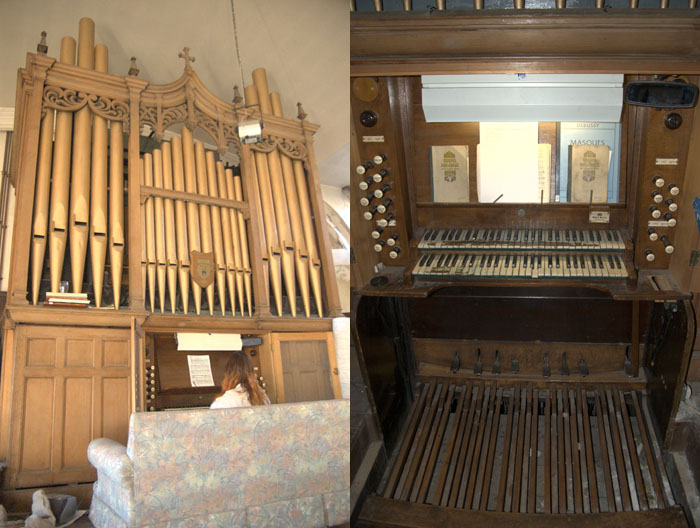 Gray and Davison Organ
